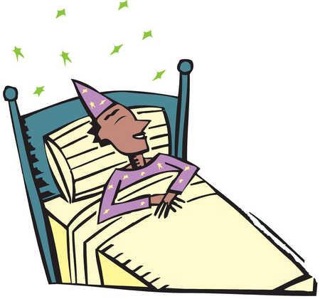 450x420 Sleeping Cartoon Man