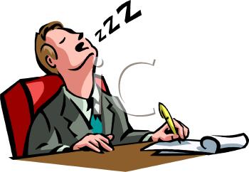 350x242 Sleeping Clipart Sleepy Man