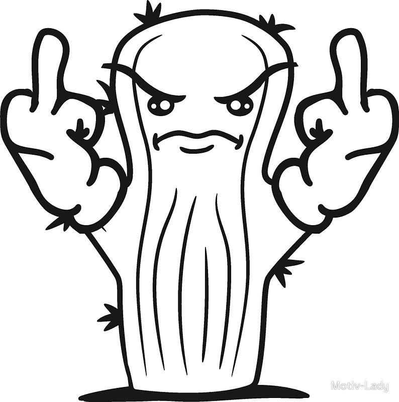 794x800 Nasty Insult Comic Cartoon Wichser Fuck You Off Middle Finger