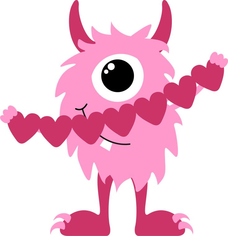 Cartoon Monster Clipart