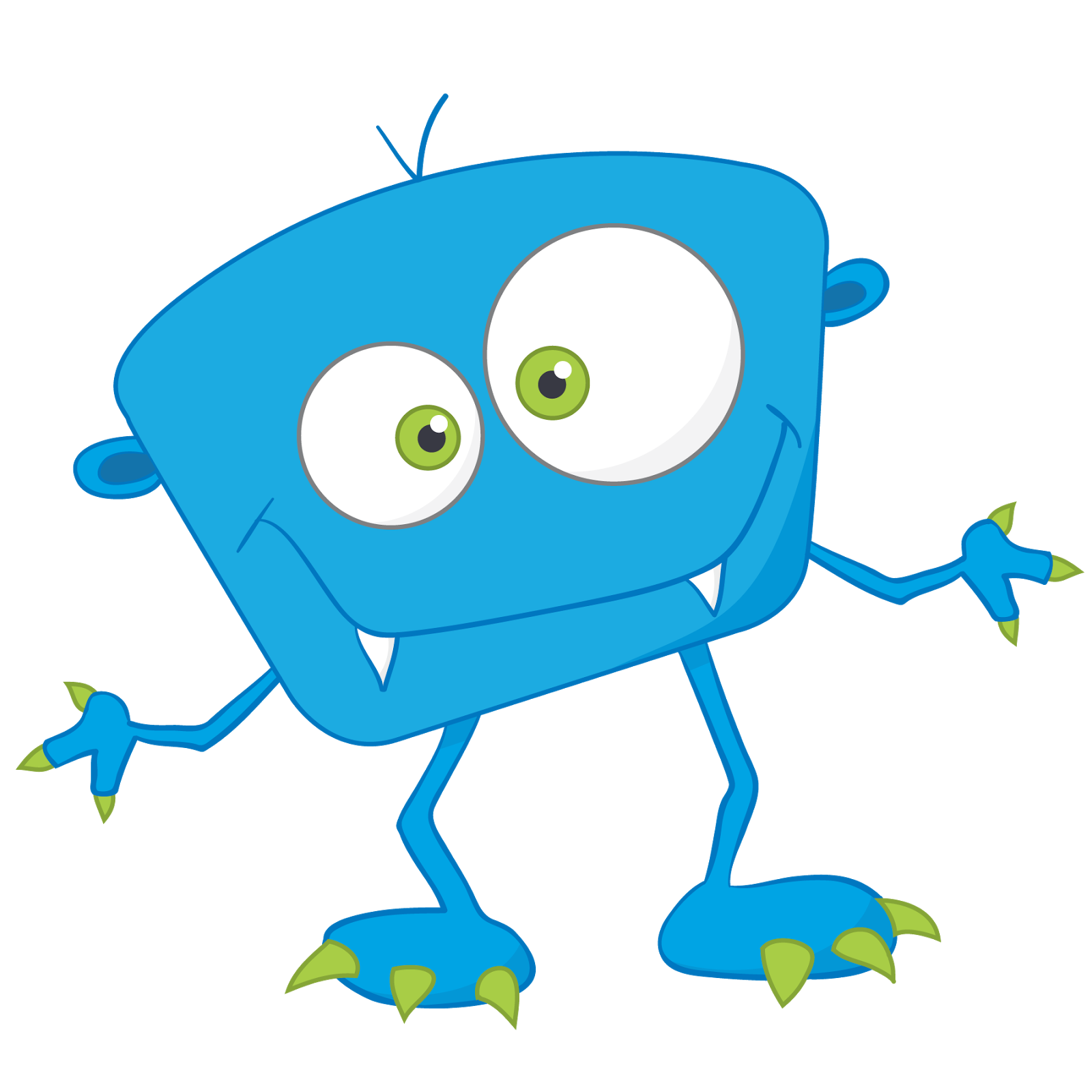 1600x1600 Funky Clipart Baby Monster