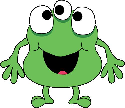 500x433 Monstrinho Verde Monstruos Green Monsters