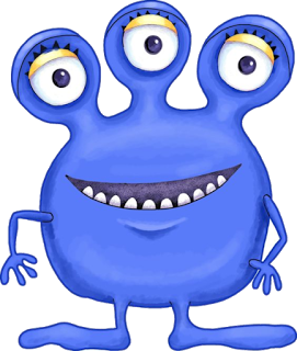 271x320 Cantinho Encantado Monsters Monsters, Clip Art