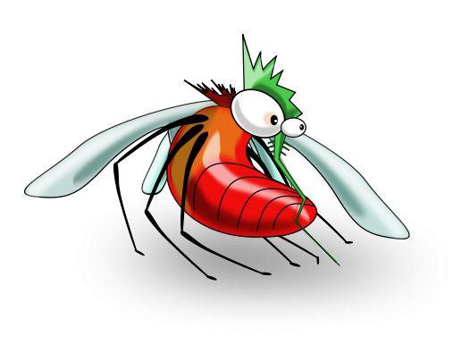 507x385 Free Funny Clip Art Cartoon Mosquito
