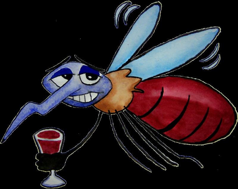 800x635 Mosquito Clipart Comic