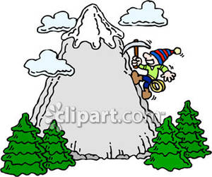 300x250 Animated Mountaineering Clipart