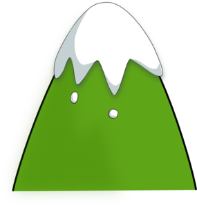 285x298 Green Mountain Clip Art
