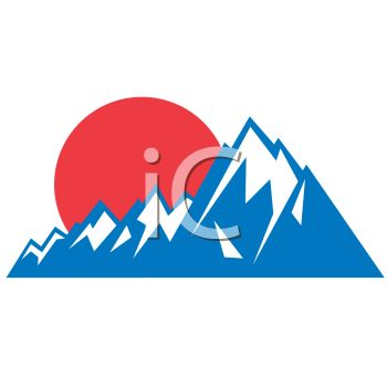 350x350 Mountain Sunset Icon