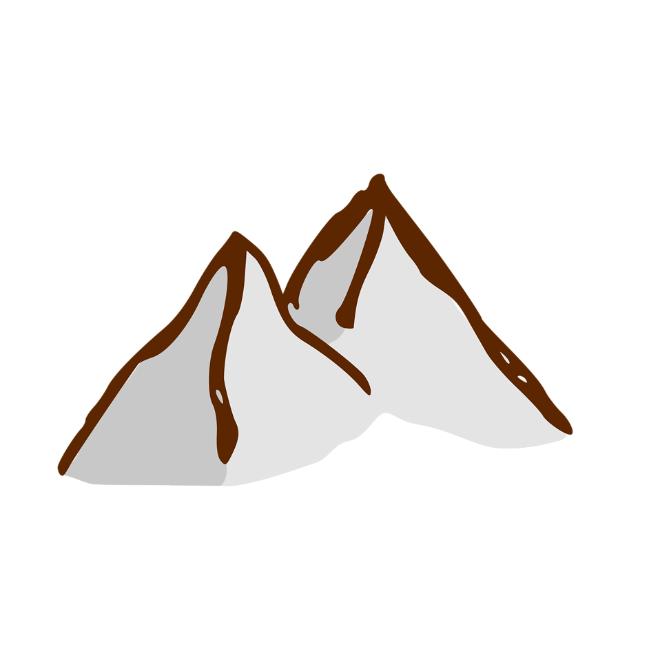 958x958 Edit And Free Download A Small Cartoon Mountain