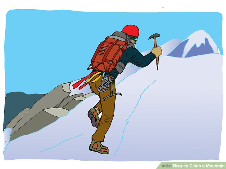 728x546 Peak Clipart Climb Mountain
