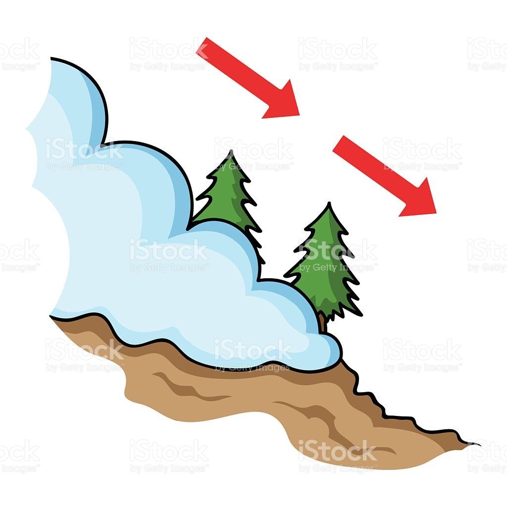 1024x1024 Avalanche Clipart Mountain Sketch