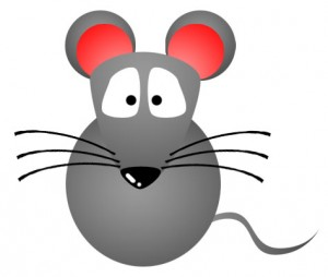 300x254 Mouse Clip Art In Black Silhouette Free Clipart 5