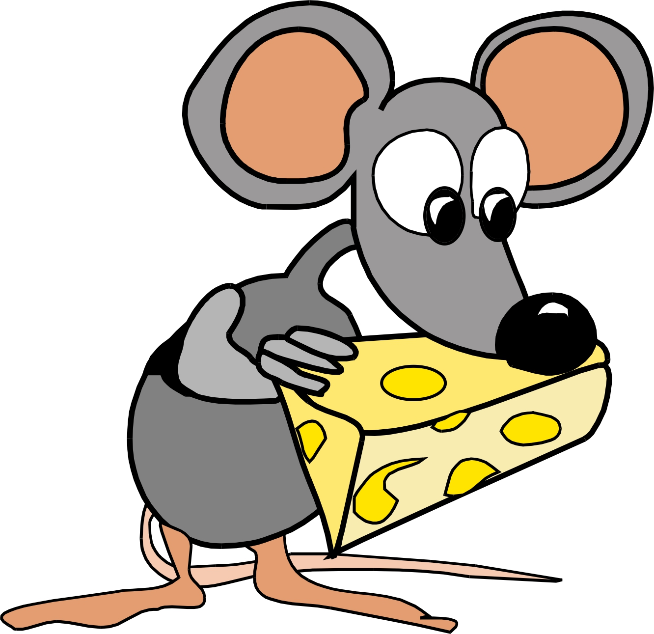 1332x1291 Mouse Clipart Cartoon Character