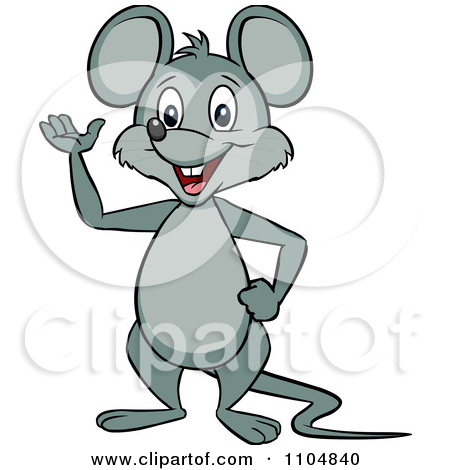 450x470 Mouse Clipart Happy