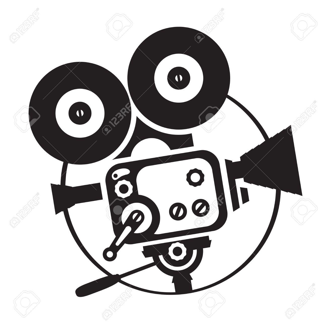 Cartoon Movie Camera