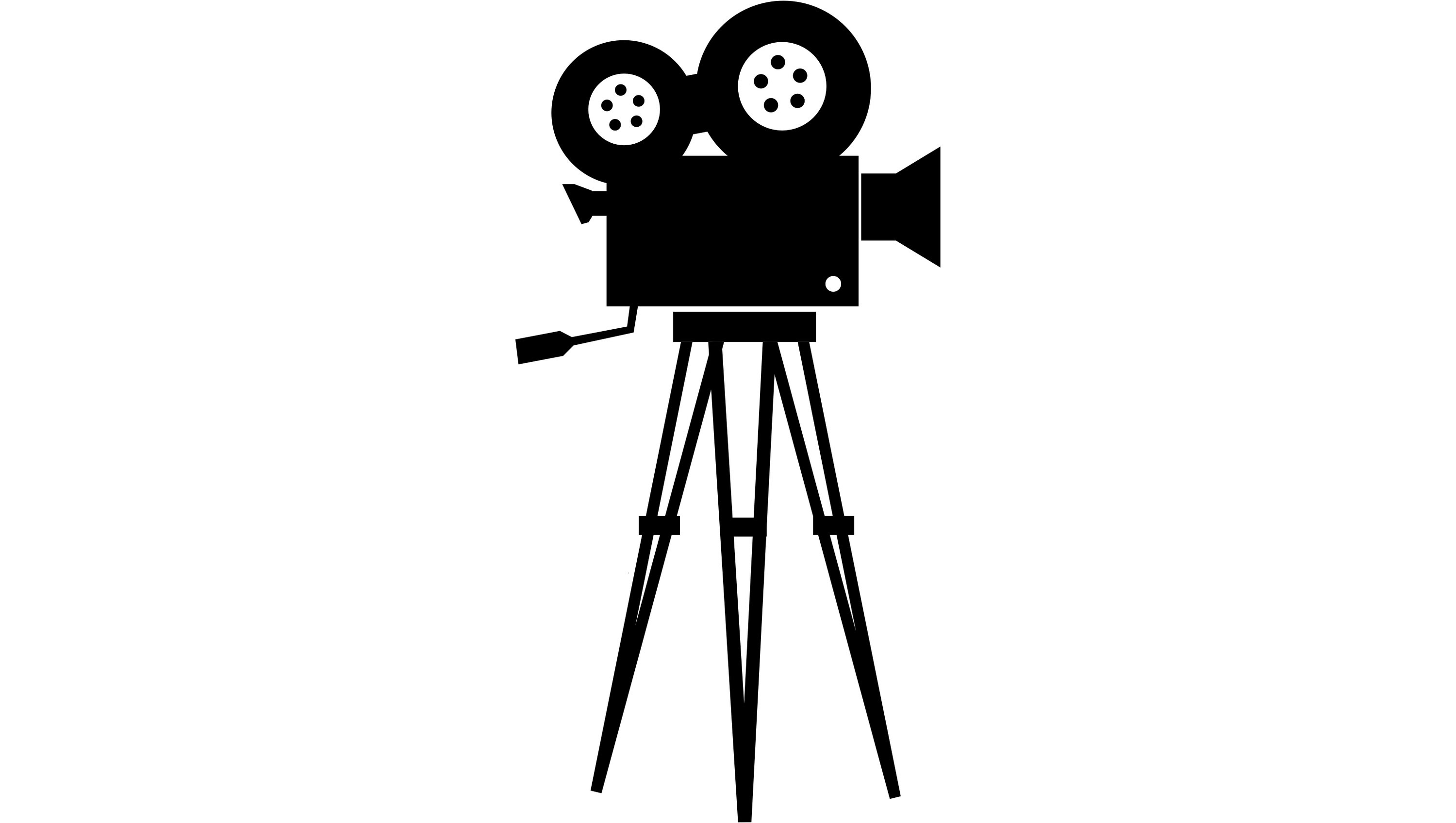 3000x1695 Movie Camera Icon