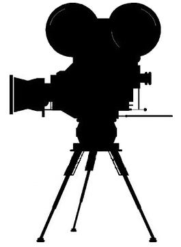 265x361 Movie Camera Clipart