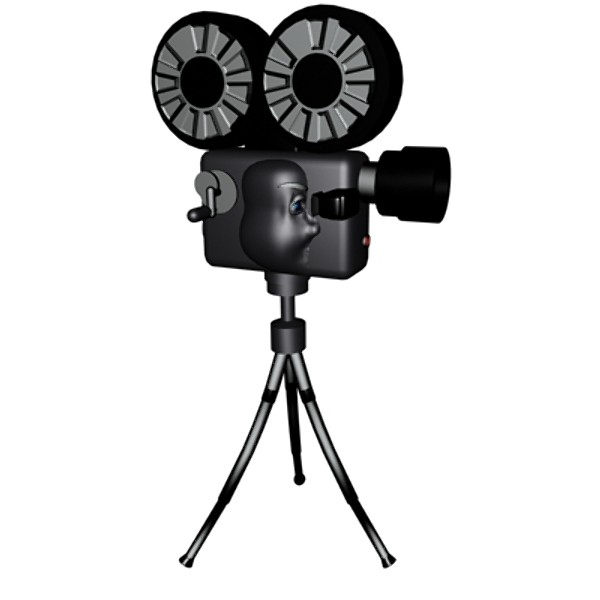 600x600 Camera Clipart Cartoon Film