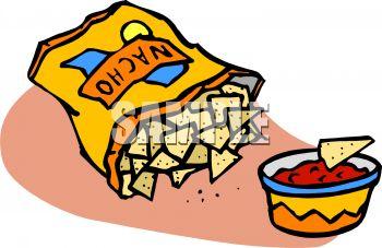 350x227 Bag Of Nacho Tortilla Chips And Salsa