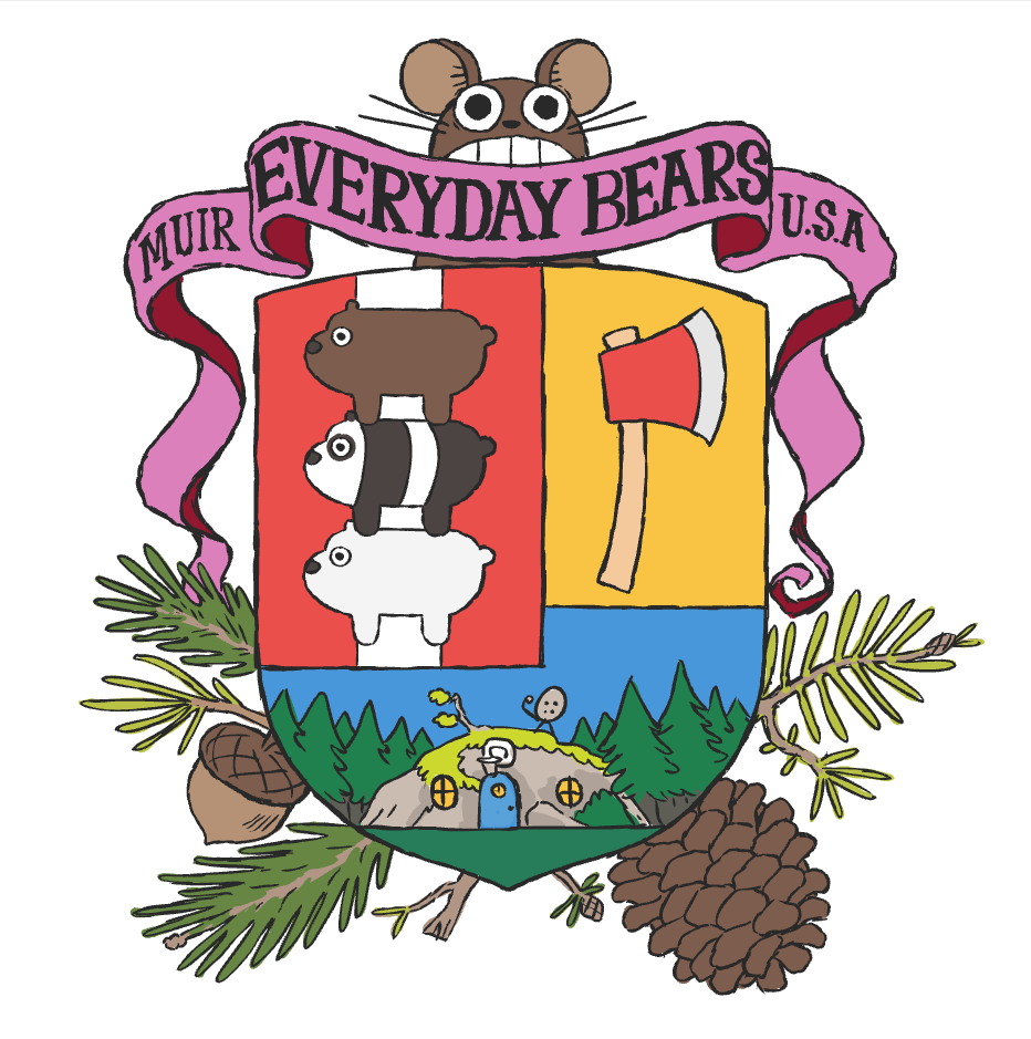 932x939 We Bare Bears Coat Of Arms Cartoon Network Know Your Meme