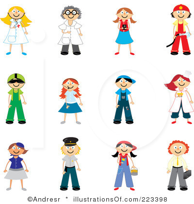 400x420 Clipart Of Occupations