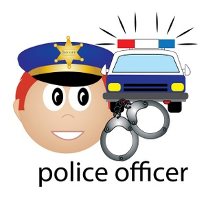 300x300 Police Officer Clipart Image