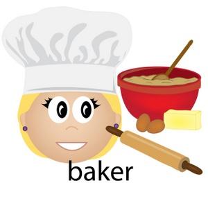 300x300 Baker Clipart Image