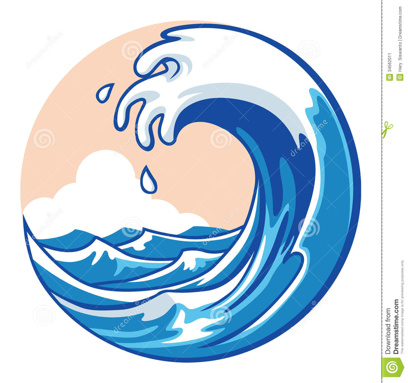 1385x1300 Clipart Ocean Wave