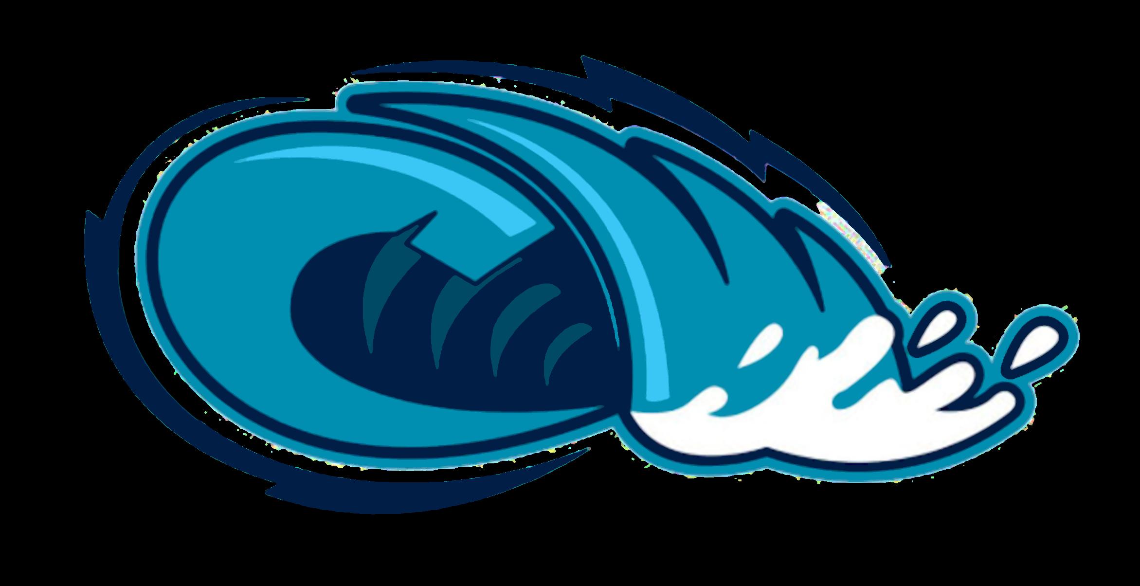 2343x1204 Ocean Clipart Tidal Wave