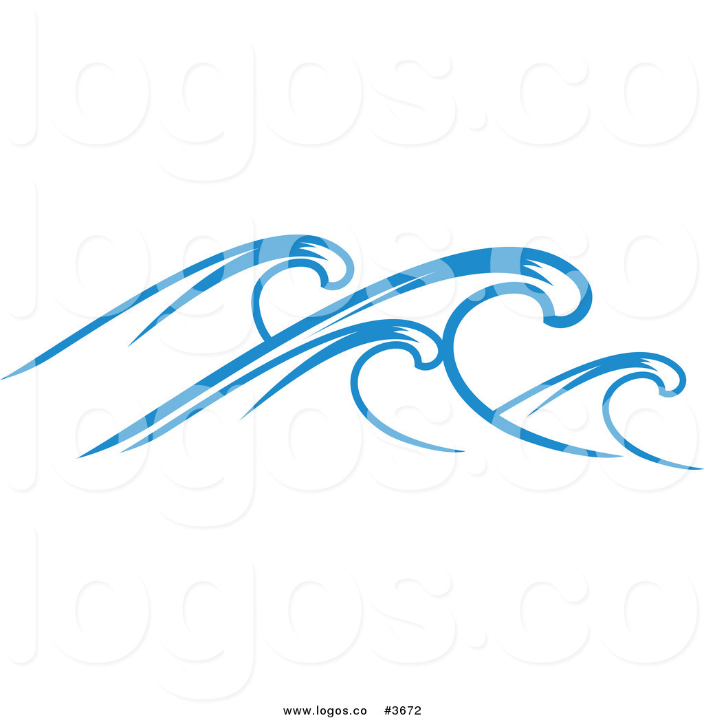 1024x1044 Royalty Free Ocean Wave Logo By Vector Tradition Sm