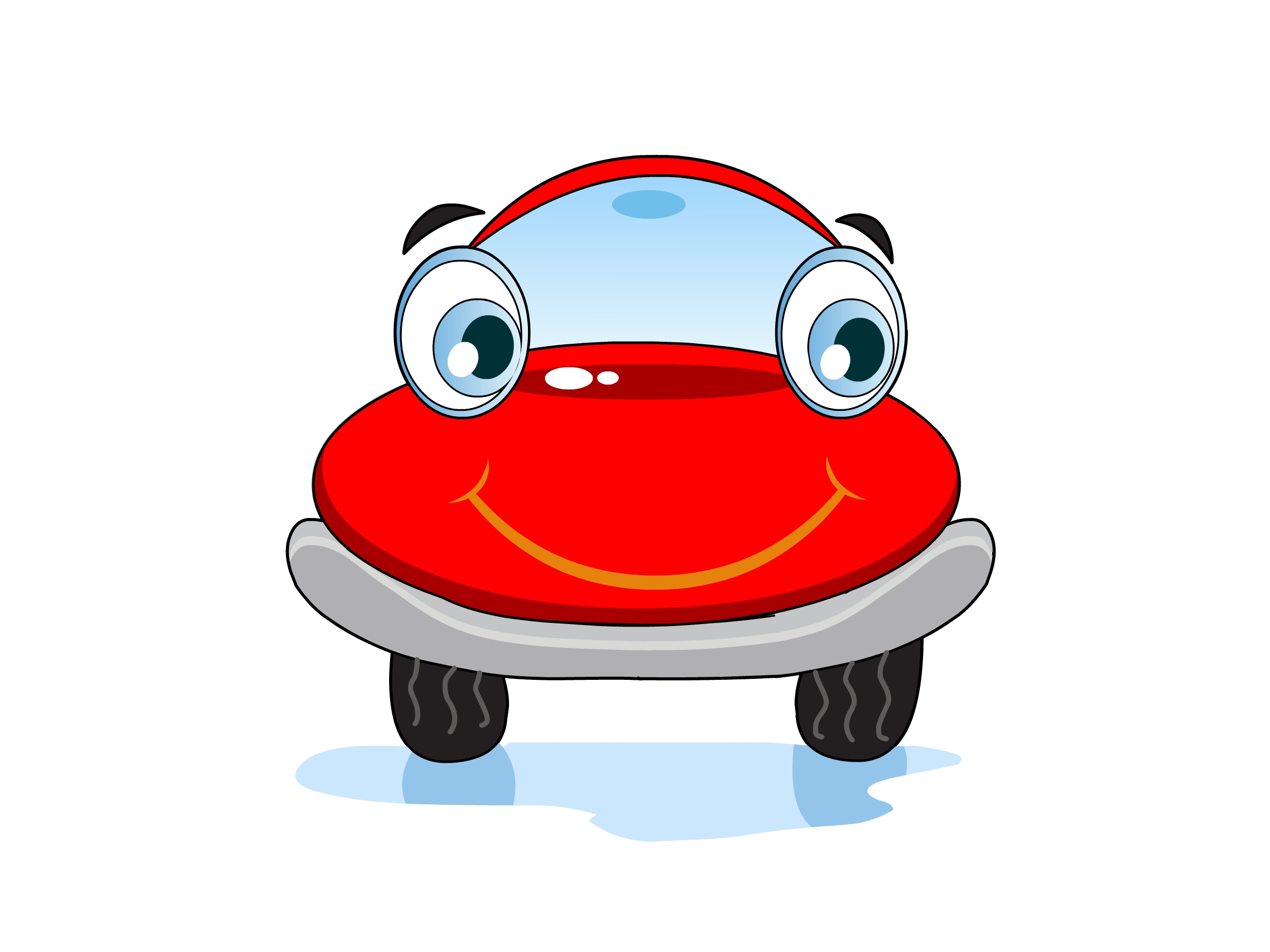 Cartoon Of Car