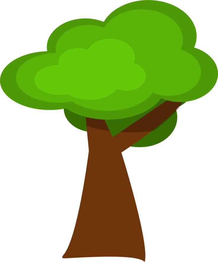 Cartoon Of Trees Clipart