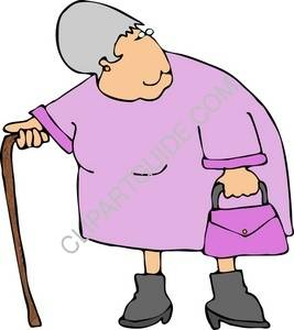 267x300 Old Woman Cartoon Clip Art Cliparts