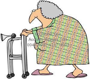 300x265 Old Woman Clip Art