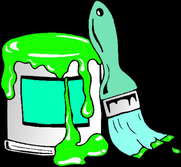 Cartoon Paint Brush Clipart Free Download Best Cartoon Paint Brush