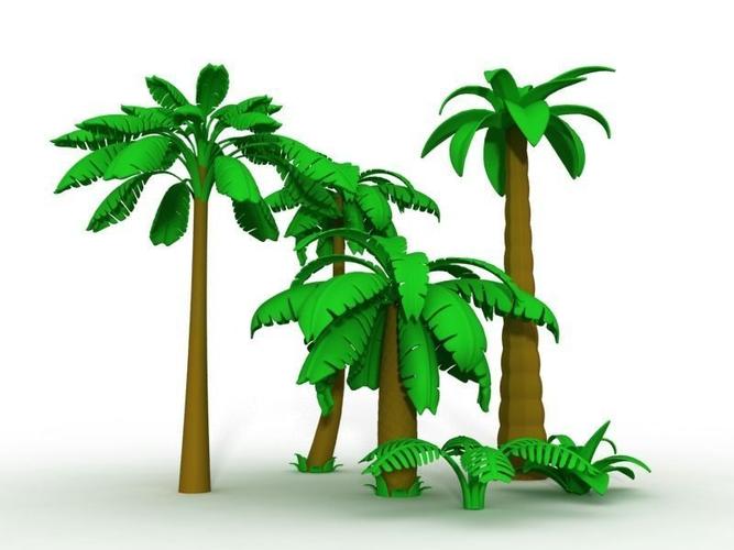 Cartoon Palm Tree Images