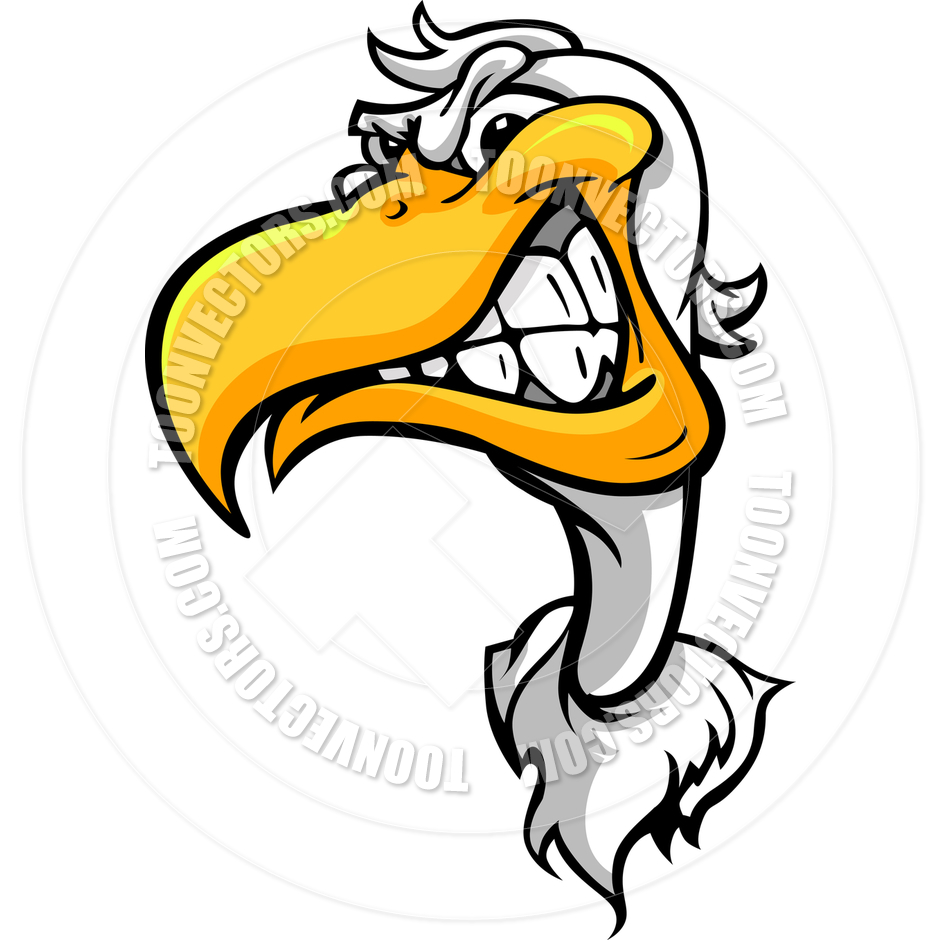 Cartoon Pelican Clipart