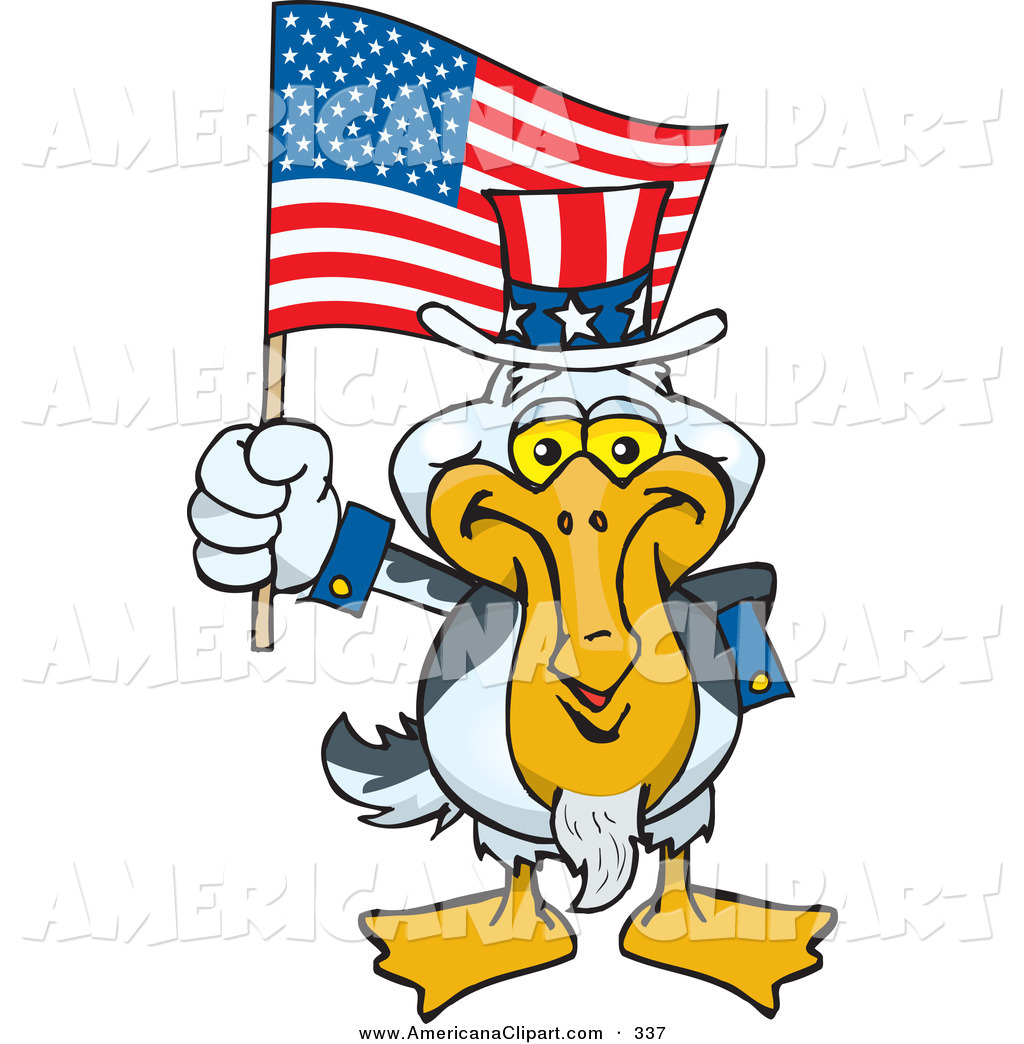 1024x1044 Americana Vector Cartoon Clip Art Of A Patriotic Uncle Sam Pelican