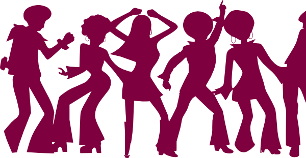 600x311 Dancing People By Markus Clip Art