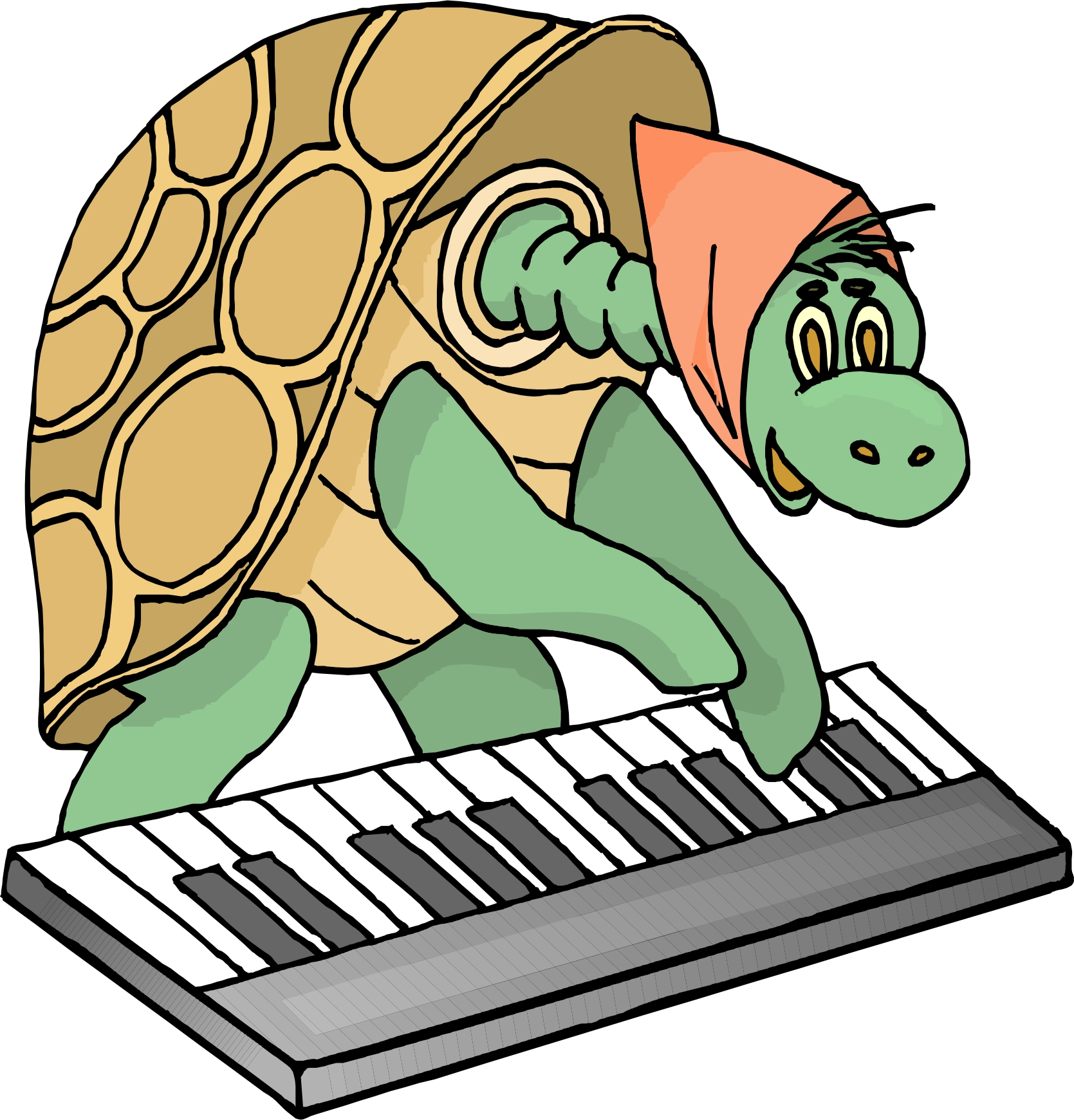 1669x1740 Cartoon Piano Pictures