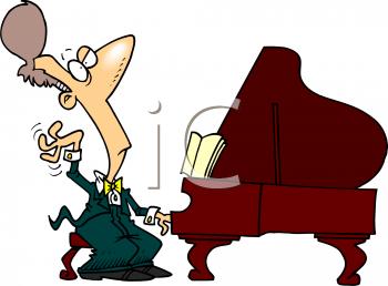 350x258 Cello With Piano Cartoon Clipart
