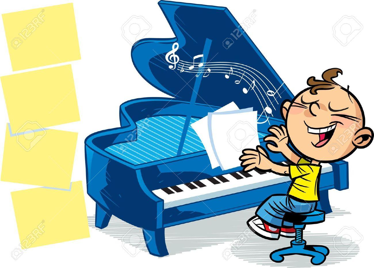 1300x933 Piano Clipart Kid