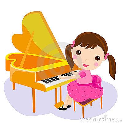 400x400 Piano Clipart Little