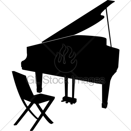 500x500 The View Of Piano Gl Stock Images