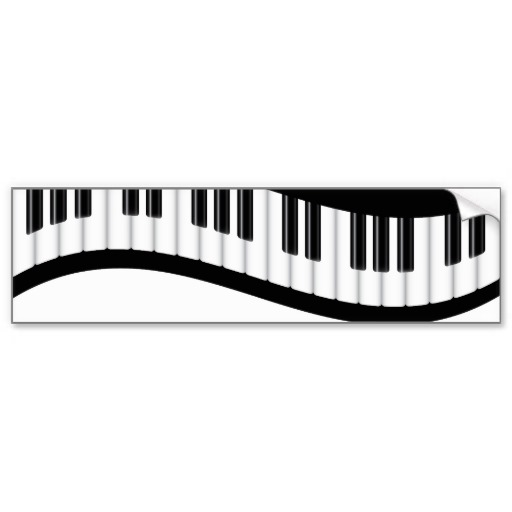 512x512 Woman Grand Piano Notes Cartoon Clip Art Free Vector 4
