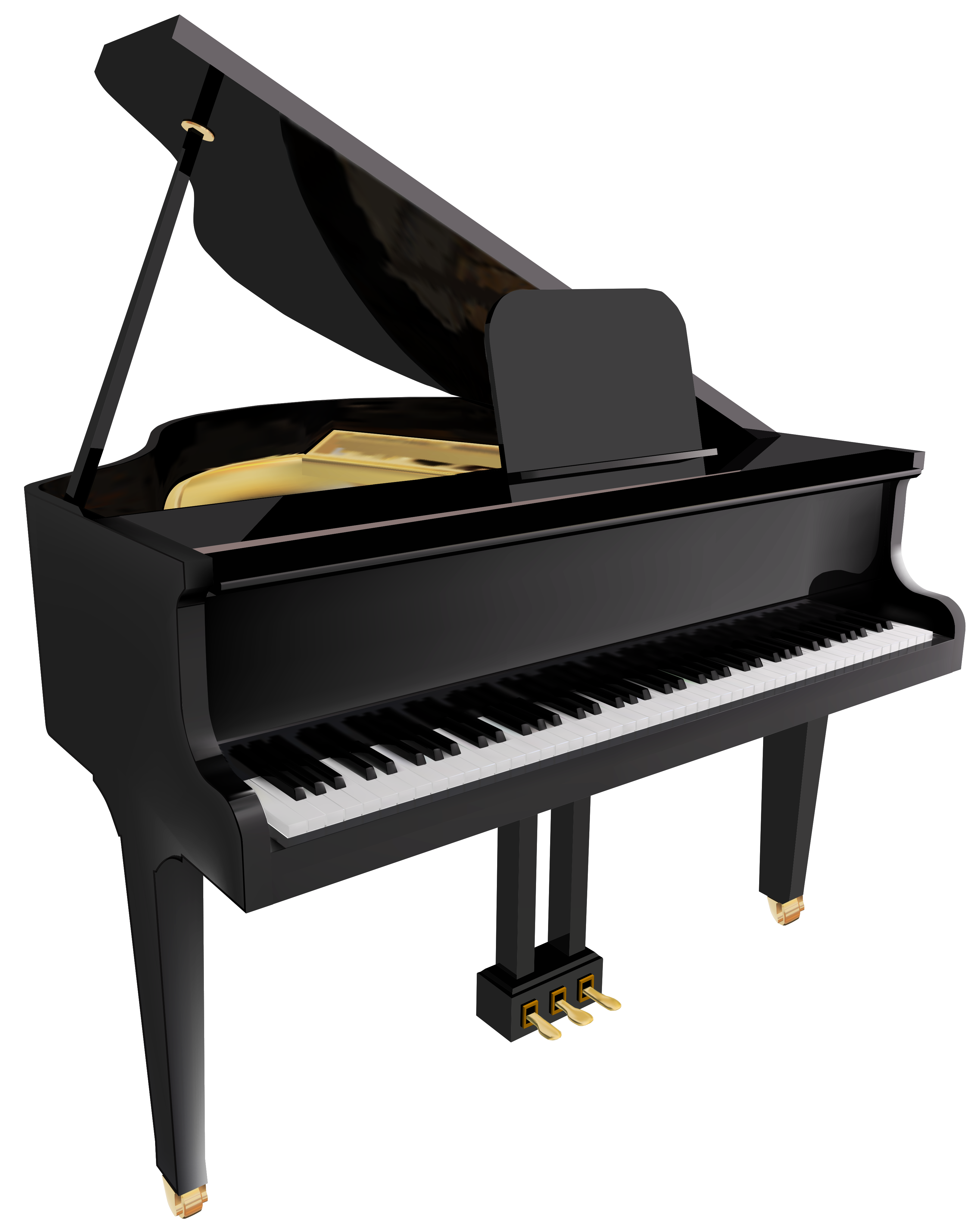 3251x4092 Woman Grand Piano Notes Cartoon Piano Clip Art Free Vector 5
