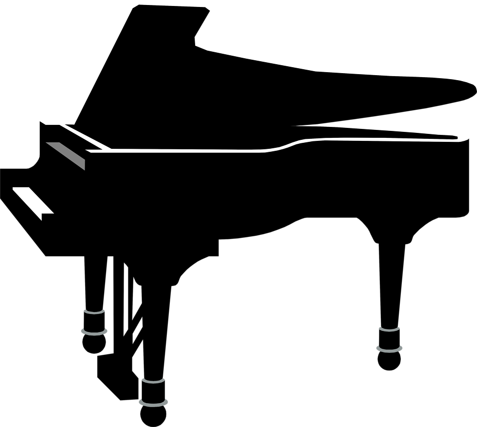 958x858 Cartoon Grand Piano Clipart