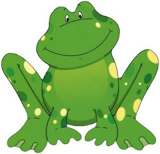Cartoon Pic Of Green Tree Frog Clipart