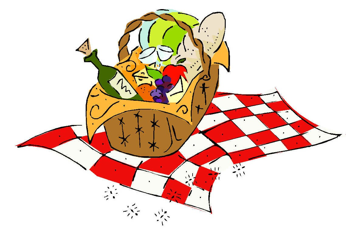1139x755 Picnic Basket Clipart Church Picnic