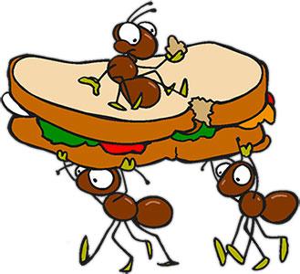 329x300 Ants Clipart Picnic 2307380